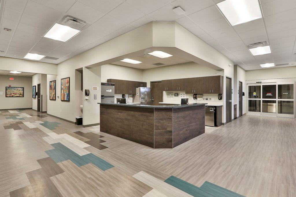 Interior view of Takle Eye Surgery Center in Locust Grove, GA.