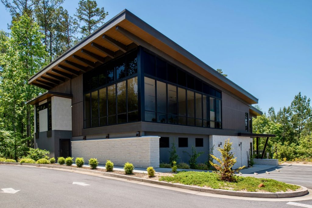 Exterior view of Prospirian International Wellbeing Training Center in Peachtree City, GA.