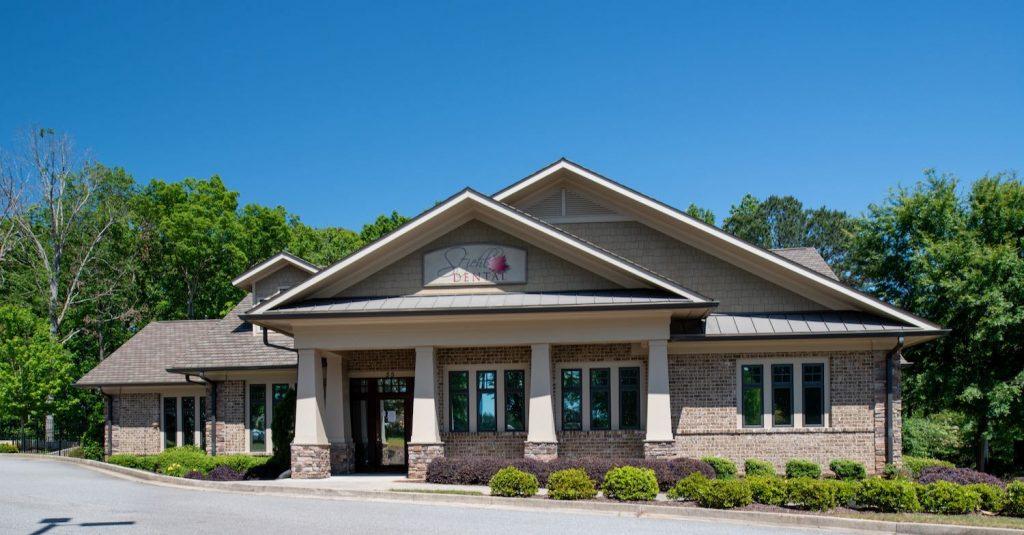 Exterior view of Stiehl Dental office in Newnan, GA.