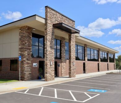 Exterior of SELCAT training building in Newnan, GA.