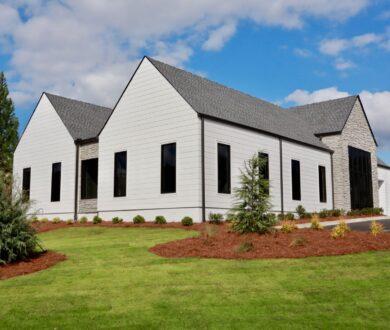 Exterior of Linton Dental office building in Peachtree City, GA.