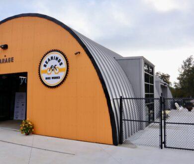 Bearings Bike Works, The Garage in Atlanta, GA.