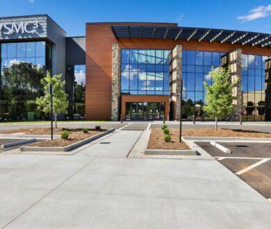 Front exterior of SMC3 headquarters in Peachtree City, GA.