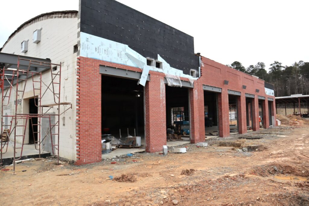 Fayetteville Event Center Construction