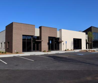 Jeffries Eye Care Office Building in Newnan, GA.