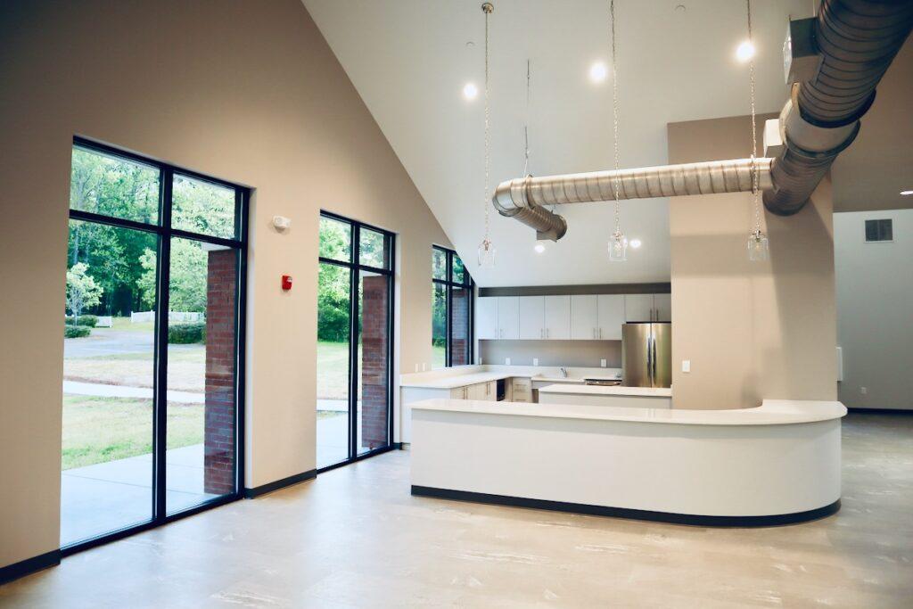 Kitchen in New Beginnings South Metro Community Center in Fayetteville, GA.