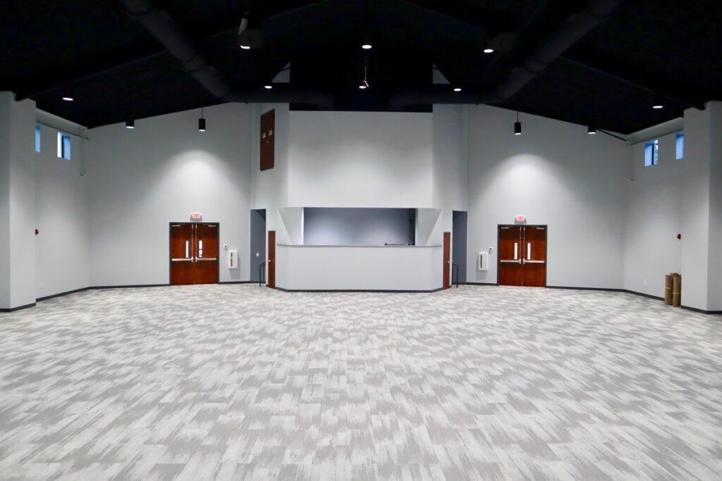 Sanctuary in New Beginnings South Metro Community Center in Fayetteville, GA.