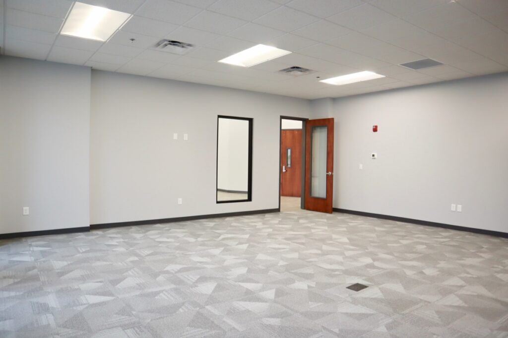 Conference room in New Beginnings South Metro Community Center.