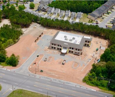 Construction of Comprehensive Health Medical Center in South Fulton, GA.