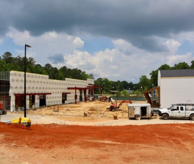 The Dottie Event Center and Bus Barn in Fayetteville, GA.