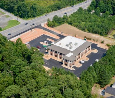 Comprehensive Health Medical Center building under construction in South Fulton, GA.