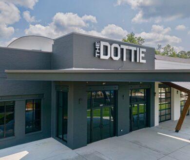 Interior of The Dottie Event Center in Fayetteville, GA.
